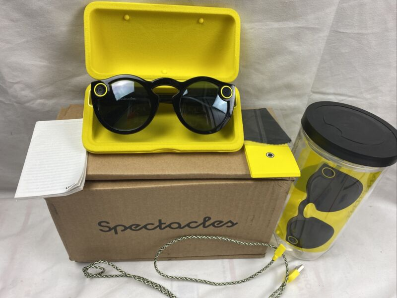 Snap Inc. Snapchat Spectacles Glasses - Original released 2016