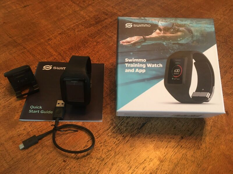 SWIMMO Smart Swimming Watch BLACK