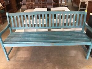 Solid Timber Garden Bench