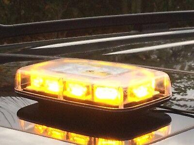 LED Rundumlicht Balken Warnleuchte 30*3W 280x165x57 12V 24V Rundumkennleuchte