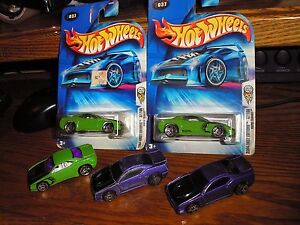 Nice-Rare-Lot-of-5-Hot-Wheels-Classic-Rapid-Transit-Sports-Cars-First-Edition