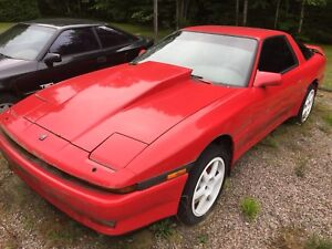 1988 Toyota Supra turbo with parts car