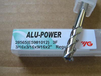 "3//4/""x1 5//8/"" LOCx 4/""OAL,ALU-POWER 3 Flute Carbide End Mill YG-1 brand"