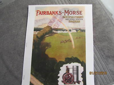 1907 Fairbanks Morse 80c Small Vertical Gas Engine Catalog Jack Of All Trades