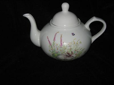 Grace s Teaware Spring Rabbit Bunny Teapot - New - $34.99
