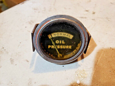 Farmall H Tractor Oil Pressure Gauge Part Sh Sm W4 W6