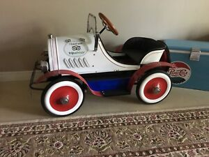 Steel pedal car never used