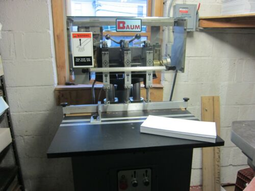 Baum ND-5 3 Hole Paper Drill - Excellent!