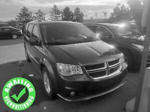2017 Dodge Grand Caravan Crew Plus| Heat Lth| Tri Clim| RV Cam|