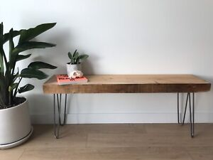 Fir hairpin bench