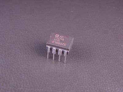 Ad790sq Analog Devices Fast Precision Comparator Single Ceramic Dip 8pin Nos