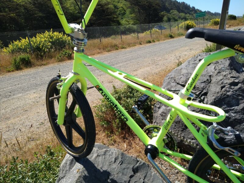 Freestyle old school BMX bike