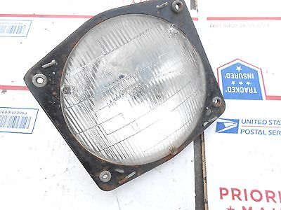 SUZUKI 440 FURY snowmobile: HEADLIGHT w MOUNT