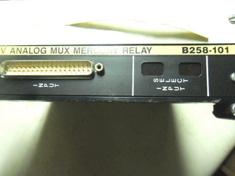 (Q1-5) 1 MODICON AS-B258-101 MEMORY RELAY