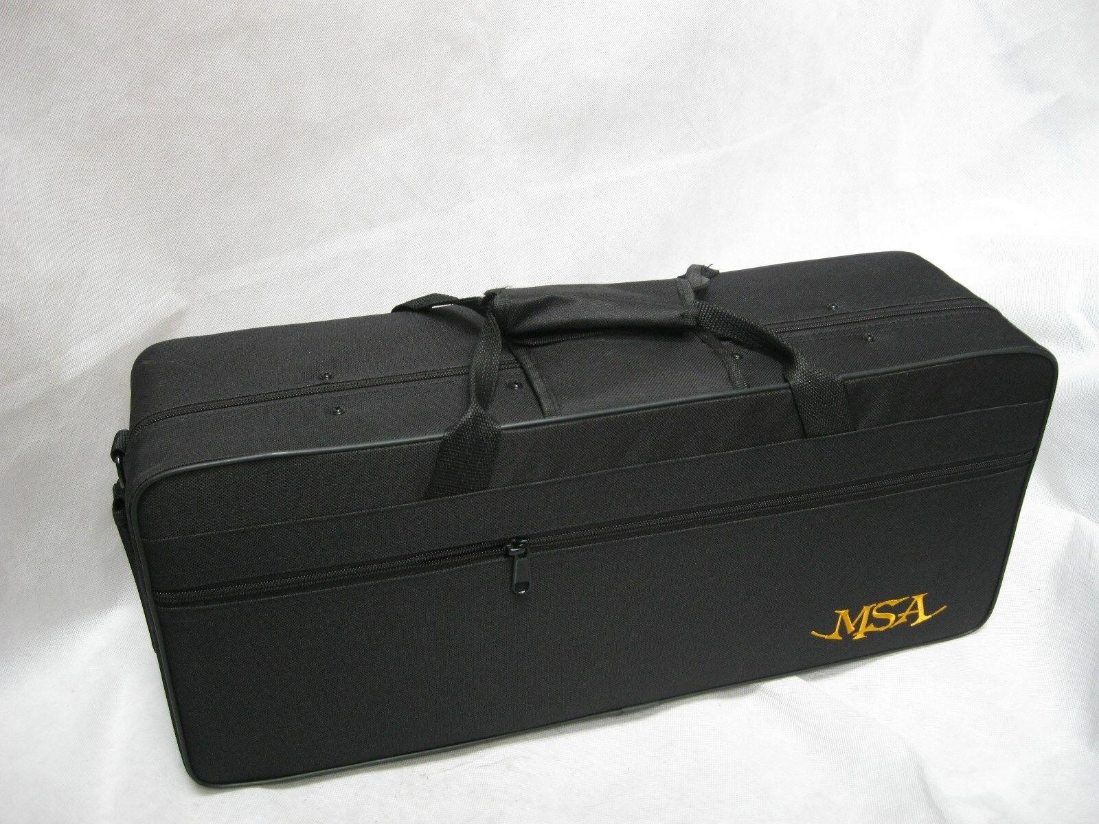 Bb - TROMPETE (rot, schwarz, gold) im Softkoffer SET + Mundstück -BLASINSTRUMENT