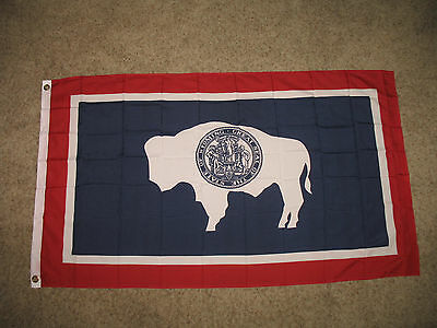 Wholesale Lot 20 3x5 State of Wyoming Polyester Flag 3'x5' Banner