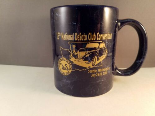 Desoto Advertising Coffee Mug 15th National Desoto Club Convention 2000 Seattle