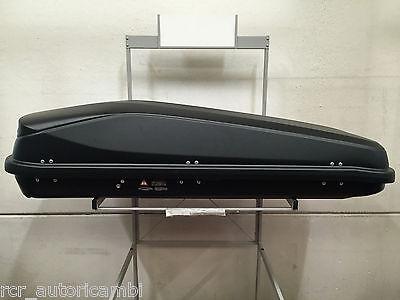 Box tetto Gev EASY BLACK 430 litri NERO OPACO  -  E9019