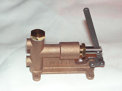 Live Steam Manually-operated 516-27 Boiler Feed Pump - New Train Tool - Usa