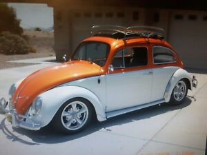 VW BEETLE WANTED 60's RAG TOP