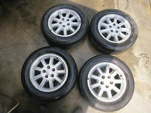 Cheap Ford BA Falcon 16 Inch Alloy Rims with Tyres Blaxland Blue Mountains Preview