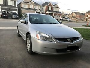 2004 Honda Accord Silver Ex-L Leather Fully Loaded
