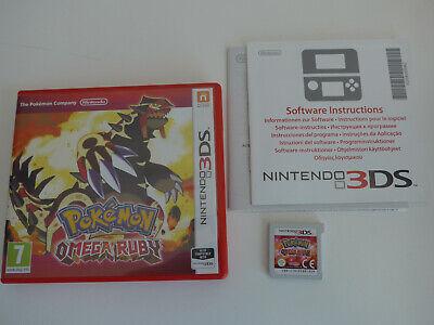 Pokemon Omega Ruby Nintendo 3DS 2DS Game Boxed UK