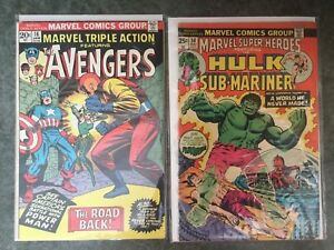 7 Vintage Marvel comics from the Seventies