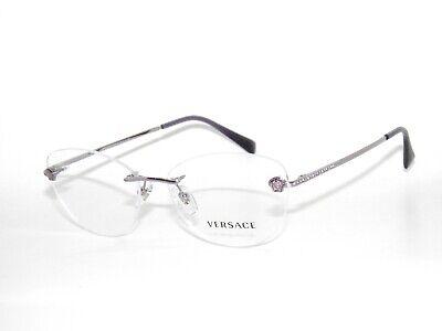 Versace Frame  1248B 1029 54 Violet Rimless  Eyeglasses Sale
