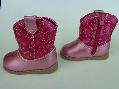 Sparkly Pink Two Tone Kid's Cowboy/Cowgirl Boots Sz 5 (Sparkly Cowgirl Boots)