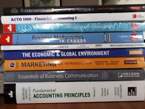 NSCC Business Admin 1st year Textbooks$300 OBO