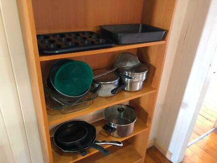 Pots, pans, tins and trays