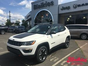 2017 Jeep Compass Trailhawk | 4x4 | 5 YR/100,000 GOLD PLAN WARRA