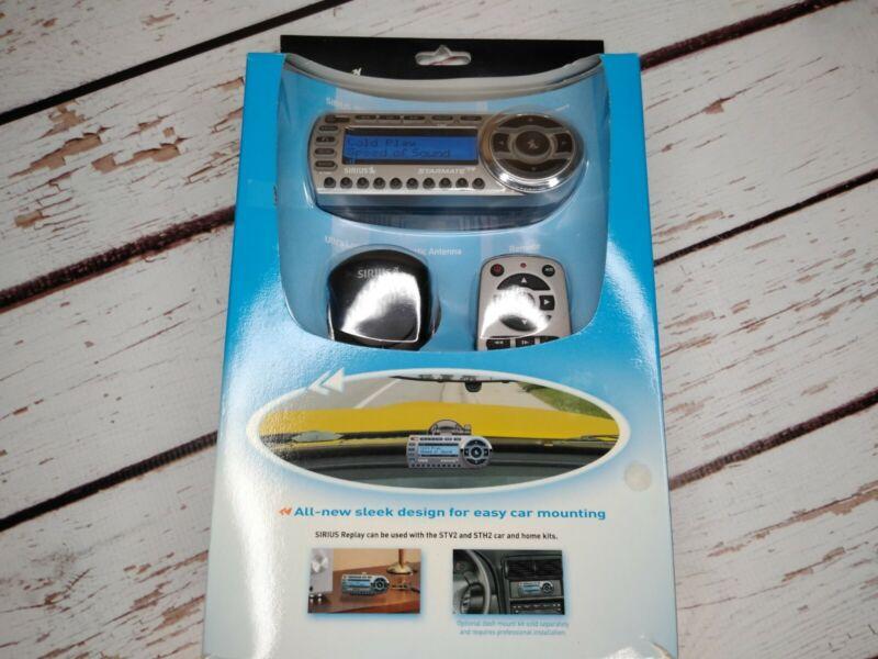 Brand New  SIRIUS Starmate Replay ST2 Satellite Radio Receiver & Car Kit New.C3
