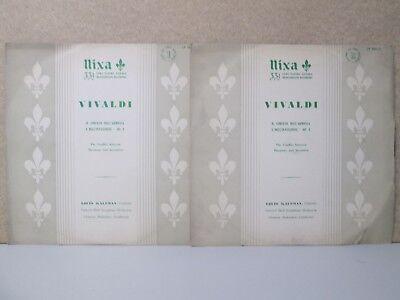 NIXA LP 1064-1/2 VIVALDI- Conflict Between Harmony LOUIS KAUFMAN VIOLIN Dahinden