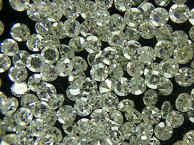 50 PIECES LOOSE WHITE SINGLE CUT DIAMOND LOT I1-3 Clarity PARCEL 0.70 MM