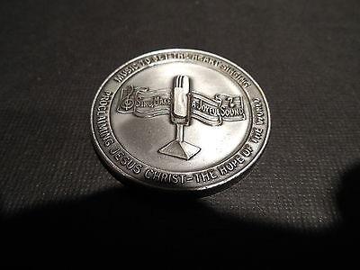 Gospel Tide Hour Medal 1971 25th Anniversary C.B. Byers