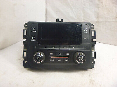15 16 Dodge Pickup Receiver AM FM XM w Display Screen VP1 P68137113AD AMF13
