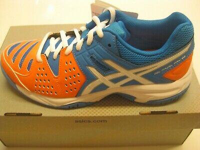 ASICS Kinder Tennisschuhe Gel-Padel Pro 3 GS blau/orange in Gr. 40,0 +++ NEU (Tennis-schuhe Kinder)