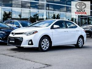2016 Toyota Corolla S 1 OWNER BACKUP CAMERA BLUETOOTH
