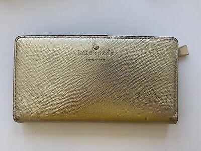 KATE SPADE Gold Purse Wallet