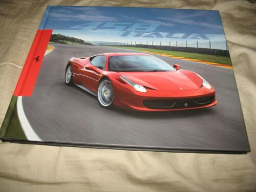Ferrari 458 Italia hardcover prestige brochure 3580/09