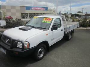 2011 Nissan Navara DX 2.5TD 4x2 Tray Top Geographe Busselton Area Preview