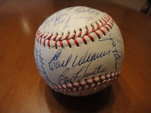 1970 BALTIMORE ORIOLES TEAM SIGNED AUTO OFFICIAL AL BASEBALL 32 SIGS