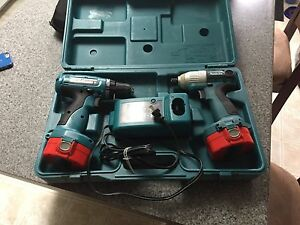 Makita 14.4V Drill and Driver combo