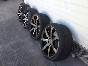 Wheels and tyres 19 inch 5 stud gmax Pascoe Vale Moreland Area Preview
