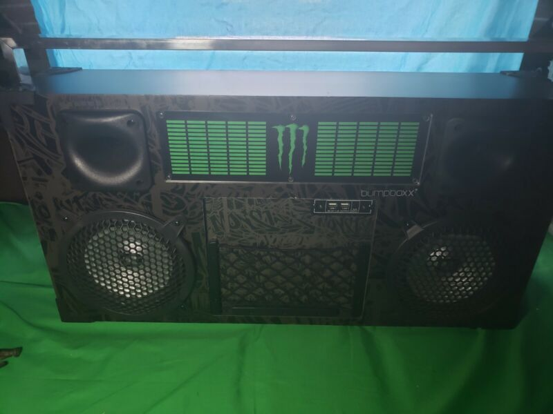 Rare Monster Energy Bumpboxx Limited Edition DL Freeze Work & Sounds Great
