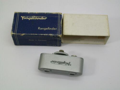 VOIGTLANDER FUNCTIONAL SHOE MOUNT CAMERA METAL RANGEFINDER UNIT IN ITS BOX