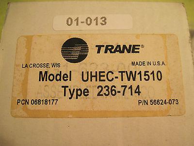 Trane Uhec-tw1510 Line-voltage Thermostat Type 236-714 Pn 56624-073
