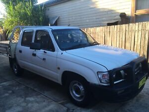 Toyota hilux ute 2004 dul cad Ingleburn Campbelltown Area Preview